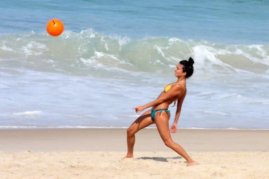 Bikini-girls-on-the-beach-in-Ipanema-Brazil