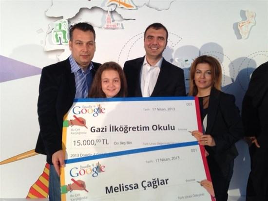 Doddle 4 Google 2013 Türkiye Kazananı