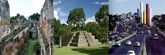 Guatemala Meksika Honduras