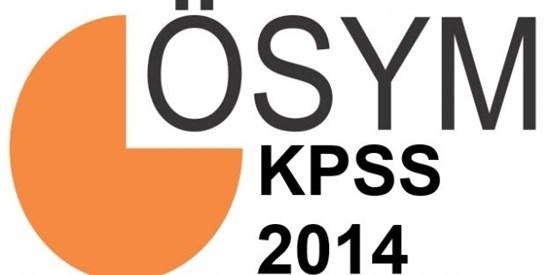 KPSS Lisans 2014