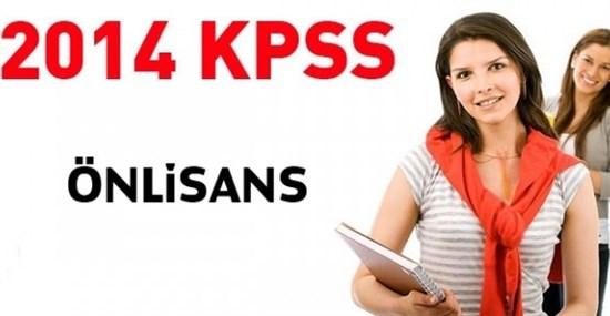 KPSS Önlisans sınavı 2014