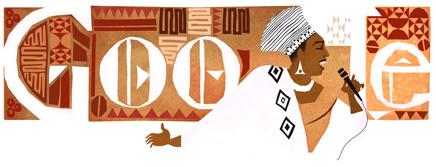 Miriam Makeba'nın 81. doğum günü doodle'ı
