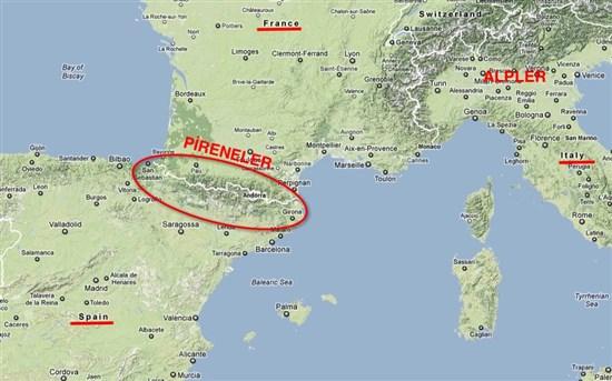 Pireneler