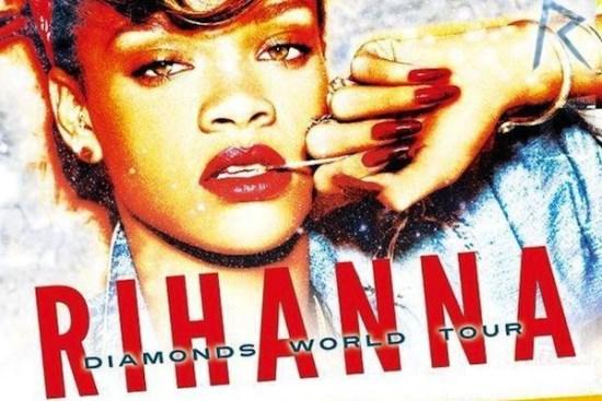 Rihanna Diamonds Dünya turnesi kapsamında mayıs ayında Türkiye'de