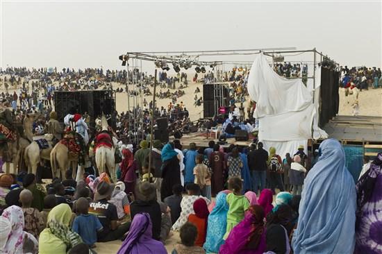 Timbuktu Tuareg müzik Festivali